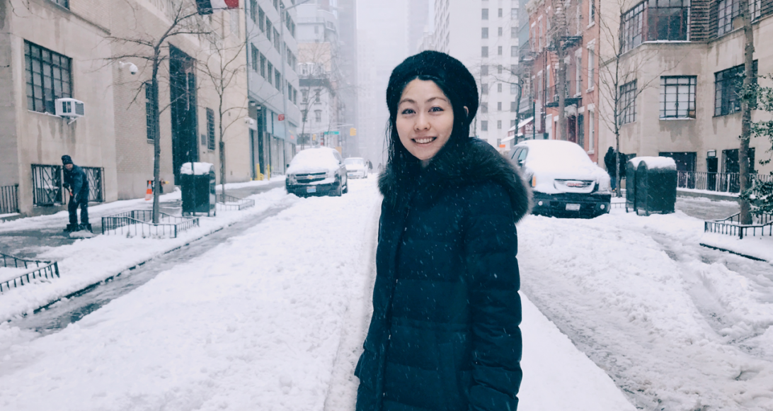 The Cold Scenery of New York An Springing Artist Faces, Six Years Ago and Today
